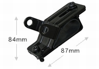 Diamond KLR Roofrailing mount bracket Option:K-9000